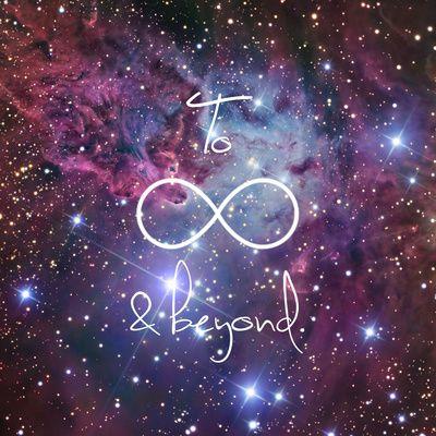 """To Infinity and Beyond Galaxy Nebula"" Art Print by RexLambo on Society6."