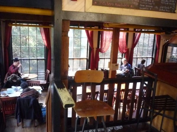 Lady Killegrew Cafe at the Montague Mill, Montague MA: http://visitingnewengland.com/montague-bookmill.html #ladykillegrewcafe