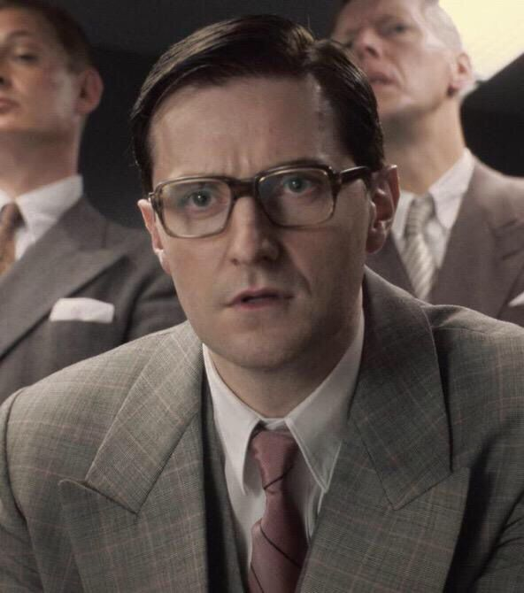 Richard Armitage (Thorin) as a hydra agent in Captain America: the first Avenger!!