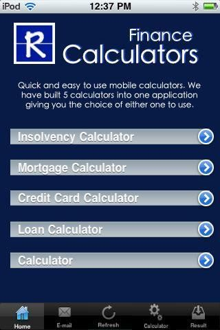 Rumanek Finance and Accounting Calculator is an application that provides a quick and easy calculations for the following calculations.<p>1. Credit Card Payoff Calculator<p>This calculator will calculate the monthly payment or number of months that you need to payoff a credit card debt , based on the annual interest rate and remaining balance.<p>2. Insolvency Calculator<p>This calculator will calculate how much you need to pay each month to payoff your debt within a specified period of…