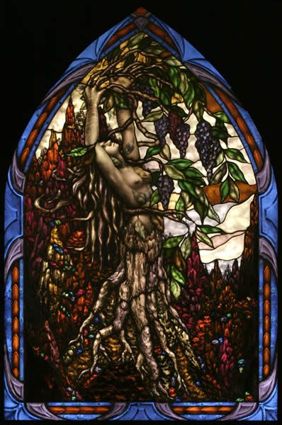 Mother Earth: Fantasy, Artists Glasses, Sylvialak, Mothers Earth, Stained Glasses Art, Mother Earth, Fabrics Design, Sylvia Lak, Cartoon Stained