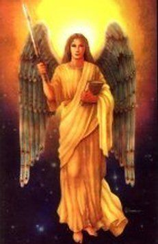 "Archangels Jophiell's name means ""beauty of God."""