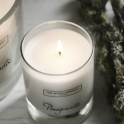 Pomegranate Signature Candle | Candles | Home Fragrances | Candles & Fragrance | The White Company UK