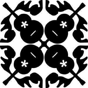 Hawaiian Quilt Tile 1