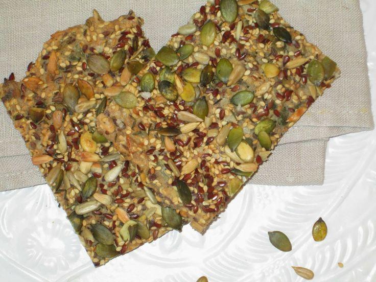 Crackers met keltisch zout en rozemarijn