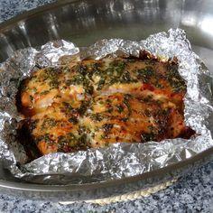 Lachs aus dem Ofen mit Honigkräuterkruste und Porree - Möhren - Curry | Chefkoch.de (Avocado Recipes Low Carb)