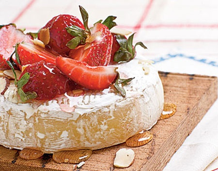 ... Dinner at Home with these Recipes | Brie, Wedges and Strawberries