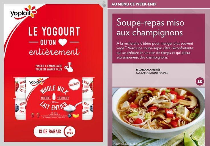 Soupe-repas miso aux champignons - La Presse+