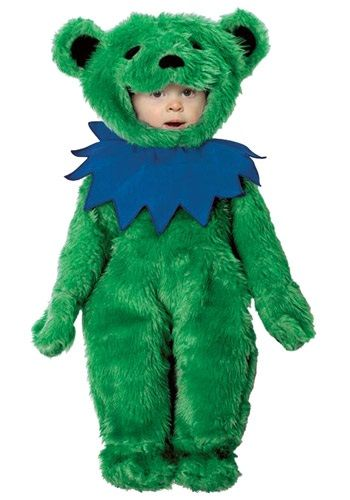 I'm not sure who would love this more, me or Riley. :) Toddler Grateful Dead Green Dancing Bear Costume