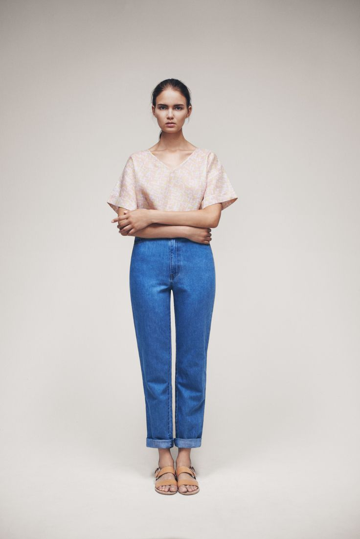 Inas Top and Jade Jeans | Samuji SS15 Seasonal Collection