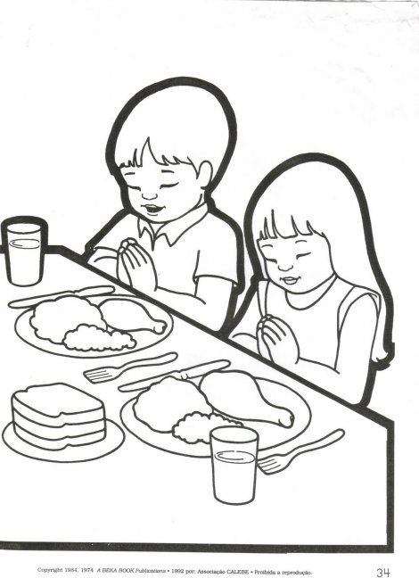 610 best images about childrens bible hour on pinterest for Pray without ceasing coloring page