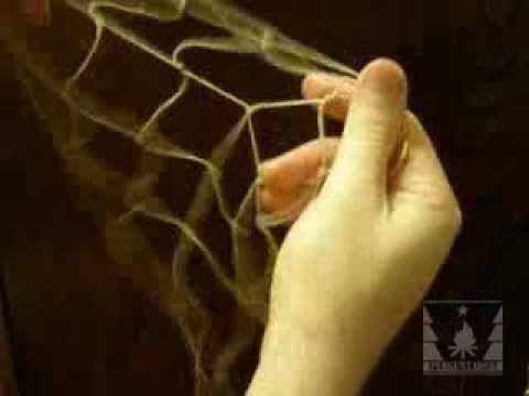 (126) Простой способ плетения сети - YouTube
