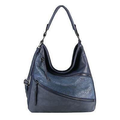 DAMEN TASCHE BLUMEN Shopper Handtasche Umhängetasche Schultertasche Leder Optik… – Italyshop24.com