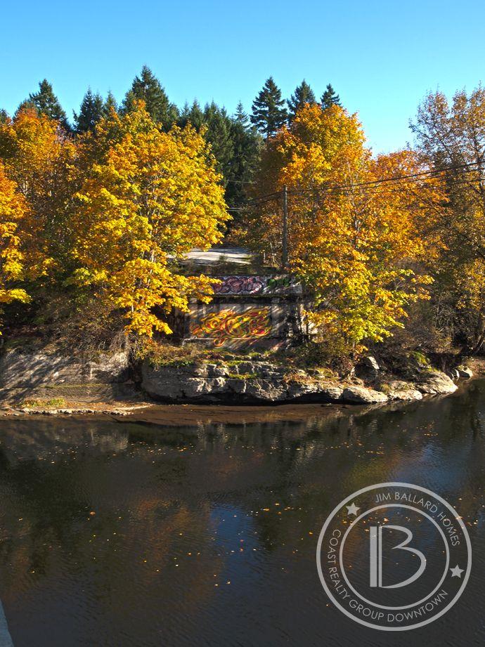 Fall. Nanaimo River. Vancouver Island. www.jimballardhomes.ca