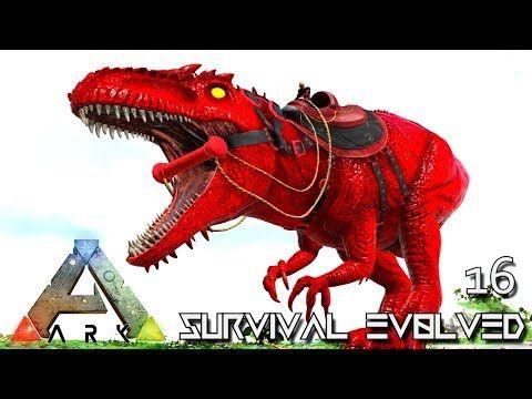 nice ARK: SURVIVAL EVOLVED - ALPHA GIGANOTOSAURUS FIRST GIGA TAME