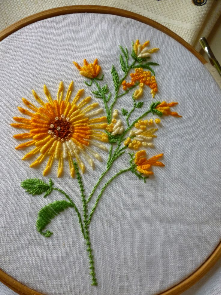 Ensaio sobre uso da técnica antiga Varicor ou brazilian dimensional embroidery. (1ª tentativa).