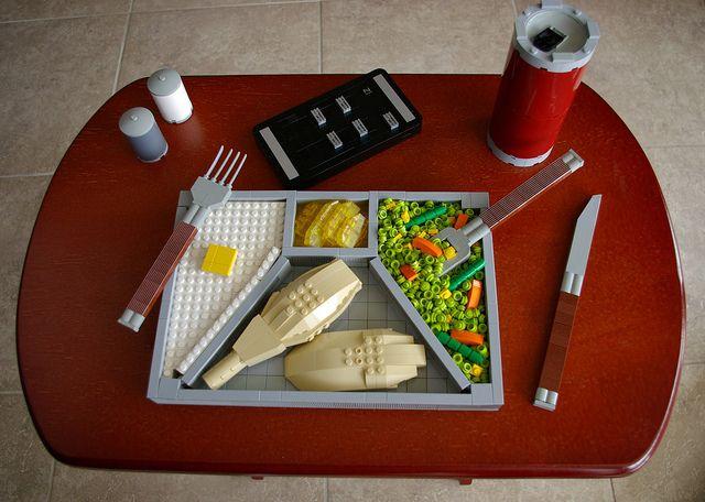 LEGO TV Dinner