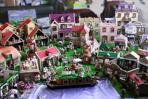 A Sylvanian Families Village in a corner of Tasmania Possibly Australia's biggest collection of Sylvanian Families