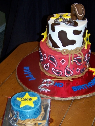 LOVE IT....Western Birthday Cake By dkbateman on CakeCentral.com