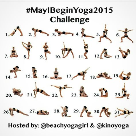 May I Begin Yoga 2015 Challenge
