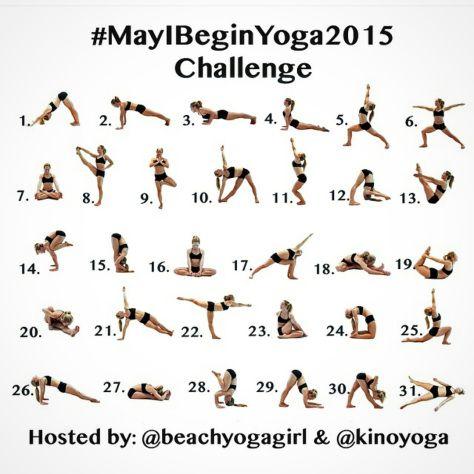 May I Begin Yoga 2015 Challenge