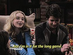 Girl Meets world:Family Game night. Josh took a breath of relief and smiled when Maya told him that she will be in it for the long game!!!! Awwwwww!!! I can't wait for them to date!!!!