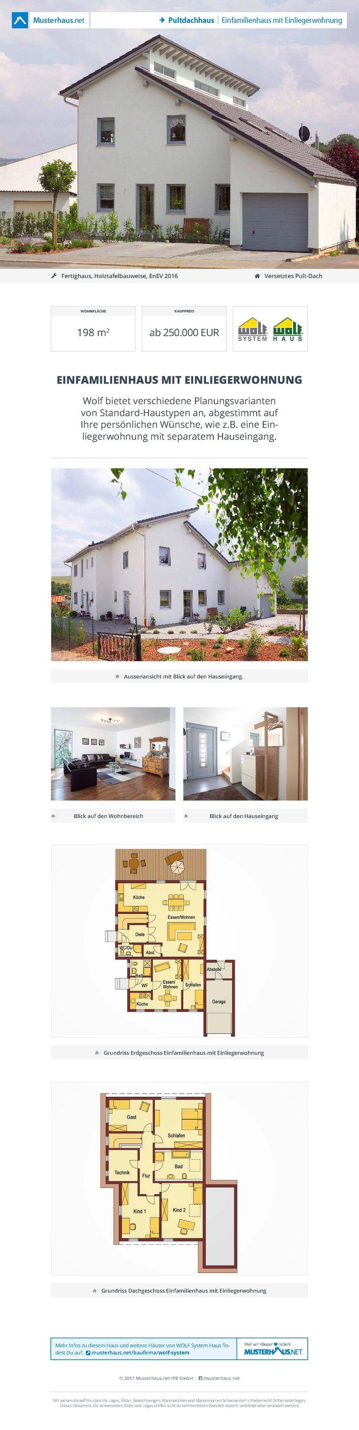 16 best Haus mit Einliegerwohnung images on Pinterest | Haus mit ...