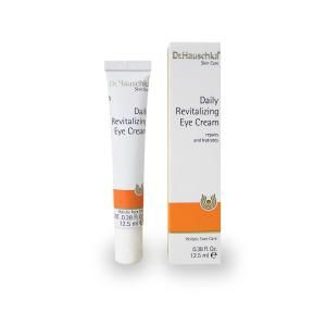 Natural skincare is hugely popular right now. Everyone asks me my favorite organic skincare products, so I've compiled gorgeous organic product options for you.: Dr. Hauschka Daily Hydrating Eye Cream
