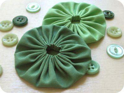 How to Sew Fabric Yo-Yo's