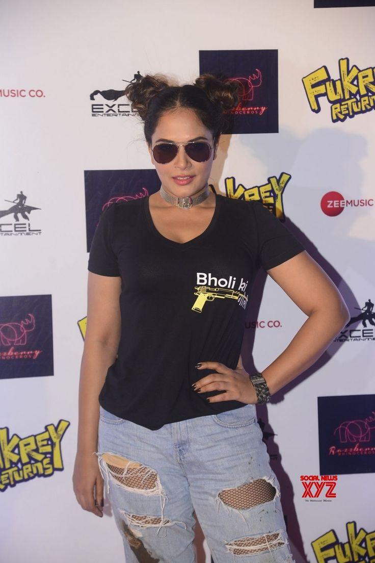 "Mumbai: Song launch of film ""Fukrey Returns""  Ali Fazal, Varun Sharma, Pulkit Samrat, Richa Chadha, Manjot Singh, Vishakha Singh and Pankaj Tripathi - Social News XYZ"