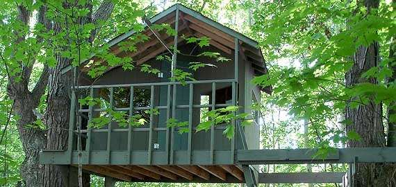 Treehouse guides produces practical and simple plans to for Help build your own home