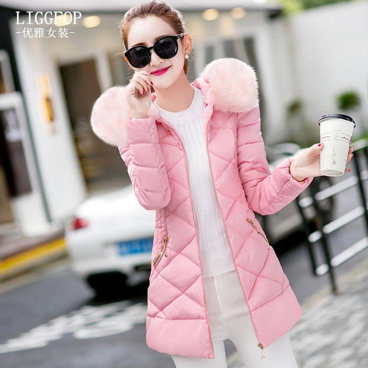 Winter Jacket Women Cotton Short Jacket 2017 New Padded Slim Hooded Warm Parkas Coat Female Autumn Outerwear XXXL Jetzt bestellen unter: https://mode.ladendirekt.de/damen/bekleidung/jacken/winterjacken/?uid=a967865f-a09c-595f-8ca7-86be5ceb8583&utm_source=pinterest&utm_medium=pin&utm_campaign=boards #winterjacken #bekleidung #jacken