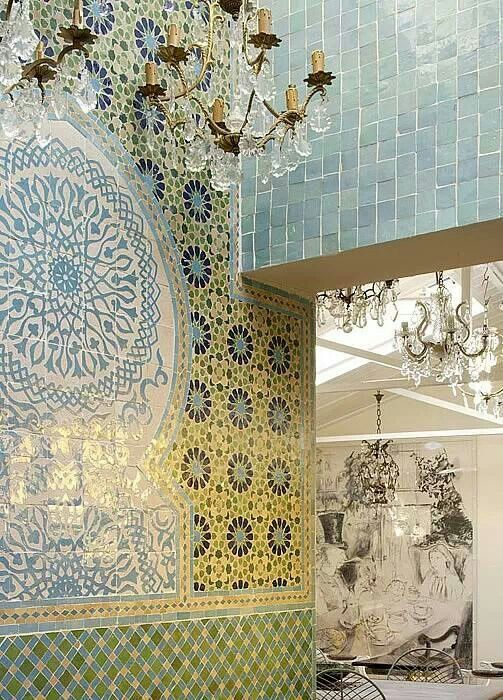 17 best images about moroccan decor and design on for Moroccan wallpaper uk