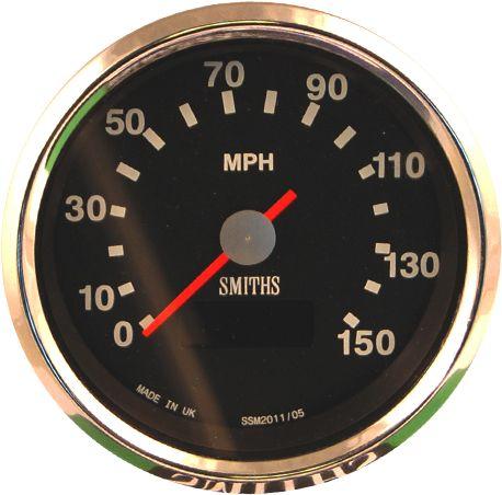 Smiths Digital Speedo For New Triumph Bonneville