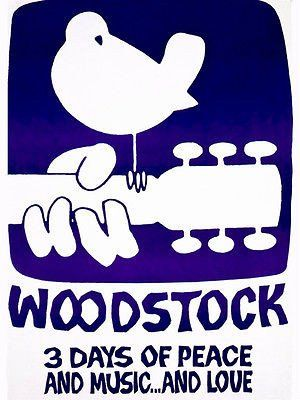Woodstock - 1970 - Three Days of Peace and Music and Love - Movie Poster