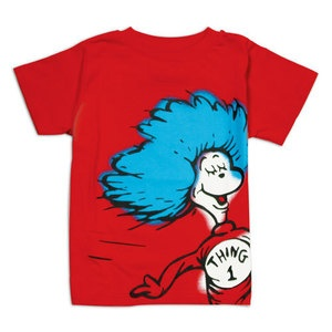 In honor of Dr. Seuss's birthday. Thing 1 Tee by Bumpkins: Here