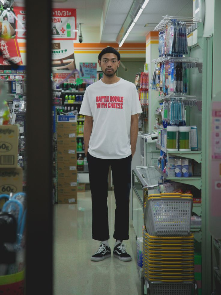 Shibuya Street Shoot with DREAMPV$HER in the Battle Royale T-Shirt