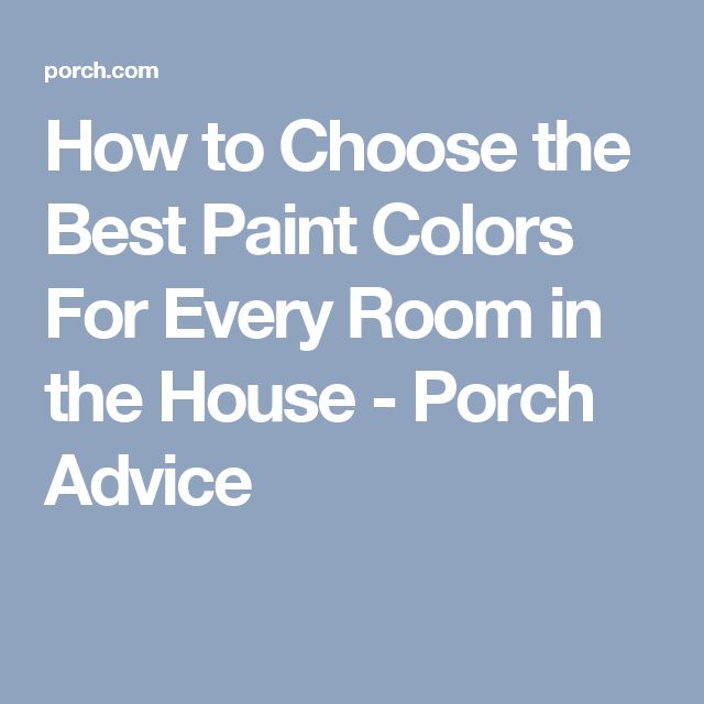 The Best Advice For Painting A Room: 17 Best Ideas About Best Paint Colors On Pinterest