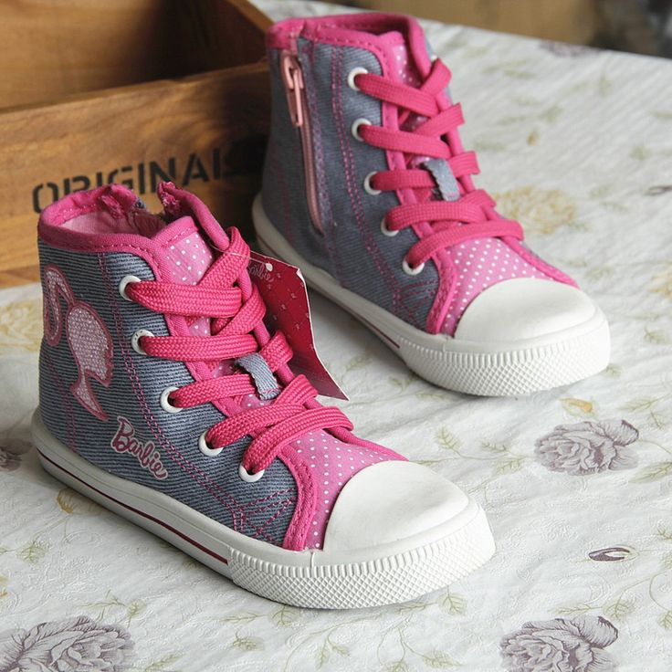 the gallery for gt barbie wedge sneakers for kids