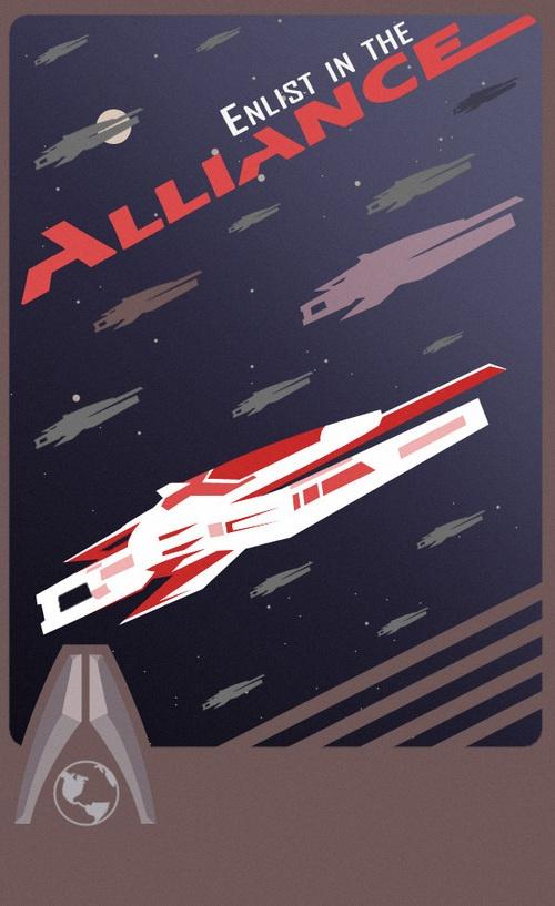 Mass Effect propaganda poster