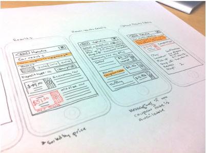 tumblr_lf2nbtHX6E1qexitlo1_500.png (402×300): Design Inspiration, Mobiles Site, Exist Mobiles, Ui Ux Design, Inspiration Wireframe, Mobiles Ui, Mobiles Wireframe, Ux Sketch, Photos Shared