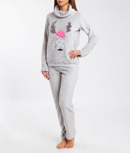 Pyjama 2 pièces polaire de chez ETAM