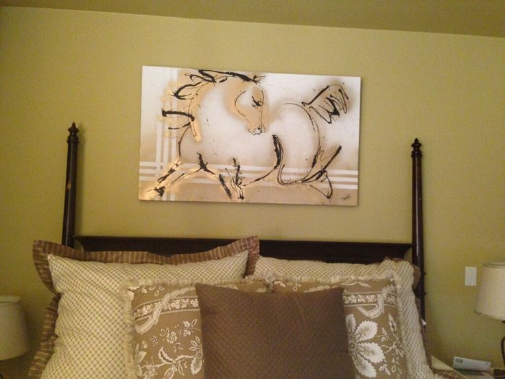 Bedroom Home Decor Contemporary Horse Artwork Paintings In Every Room Interiors Design