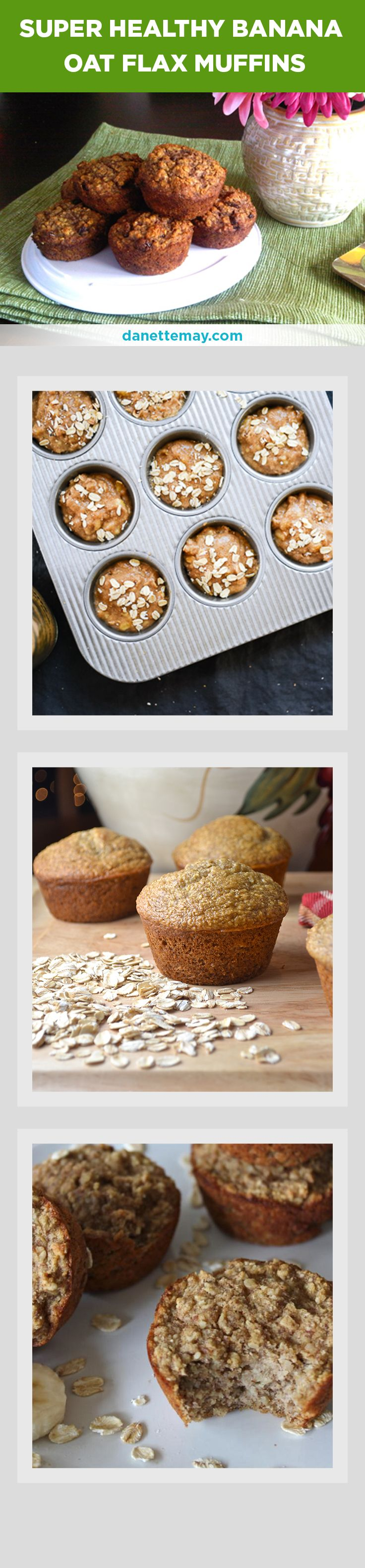 This banana oat flax muffin recipe is so yummy and super healthy. It's gluten free and easy to make.  If you want more great tasting healthy recipes can order my recipe book with over 150 fat burning recipes here --> http://www.eatdrinkshrinkplan.com/bikini-body-recipes-offer/index.html