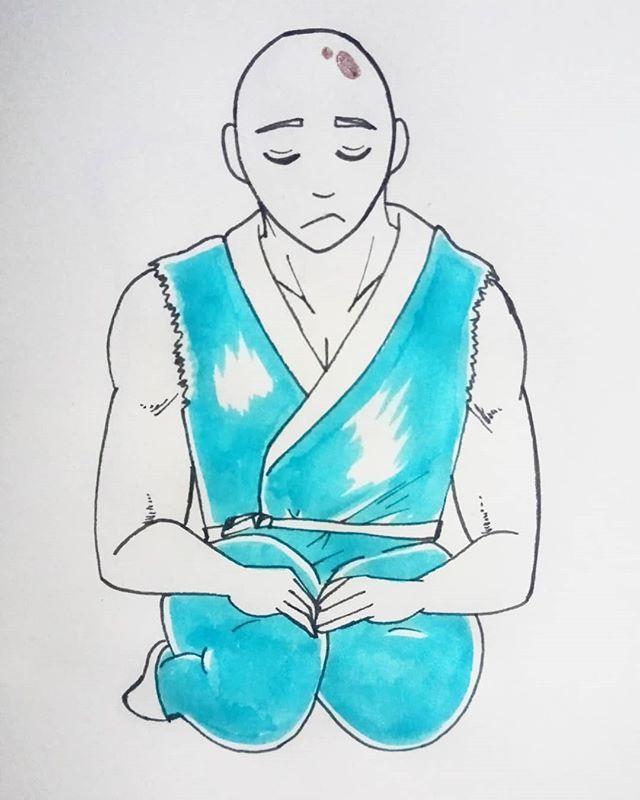 Mens Sana In Corpore Sano Mente Cuerpo Drawing Dibujo
