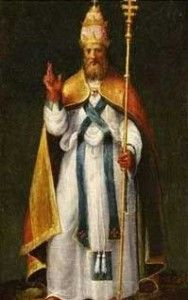 """Pope Leo I (c. 400 – 10 November 461), also known as Saint Leo the Great.  He was an Italian aristocrat, and was the first pope to have been called """"the Great"""". He is perhaps best known for having met Attila the Hun in 452 and persuading him to turn back from his invasion of Italy. Feast Day: November 10"""
