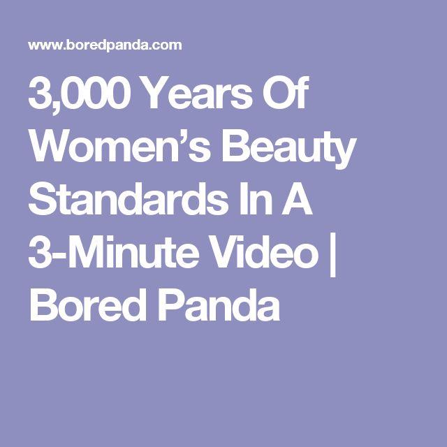 3,000 Years Of Women's Beauty Standards In A 3-Minute Video | Bored Panda