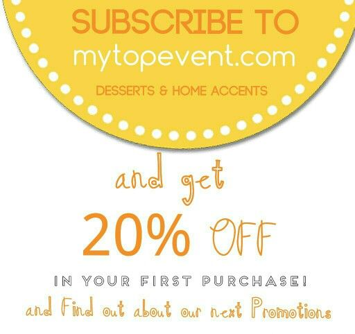 Subscribers get 20% OFF mytopevent.com