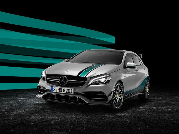 Gemaakt door kampioenen, voor kampioenen: de Mercedes-AMG A 45 Champions Edition.