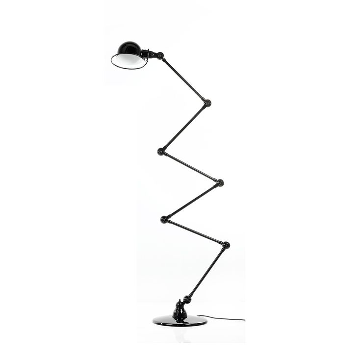 Loft D9406 Gulvlampe 240 cm, Svart, Jieldé